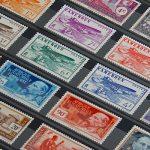 Trouver des timbres d'exception lors d'une exposition de timbres