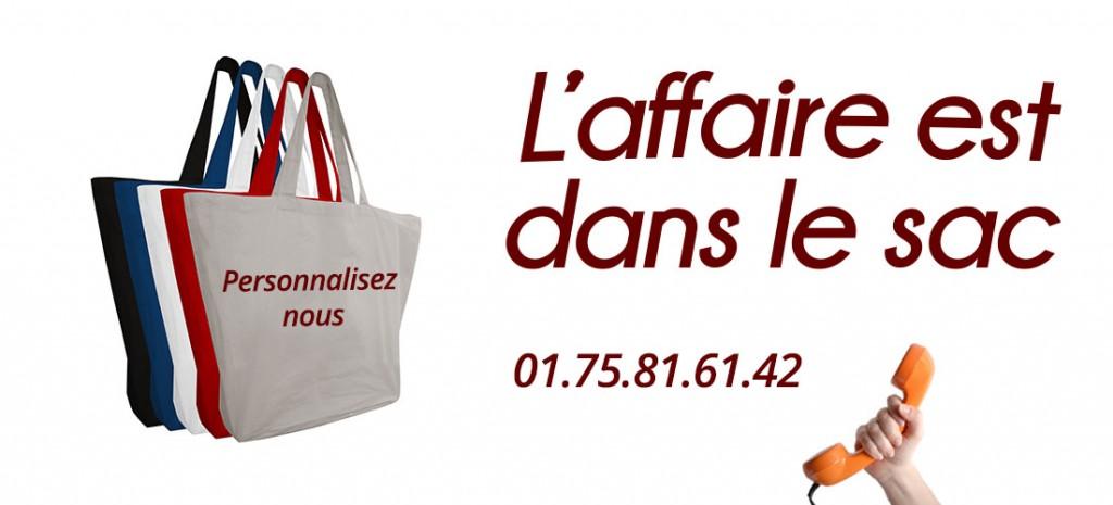 tote bag - sac personnalisable