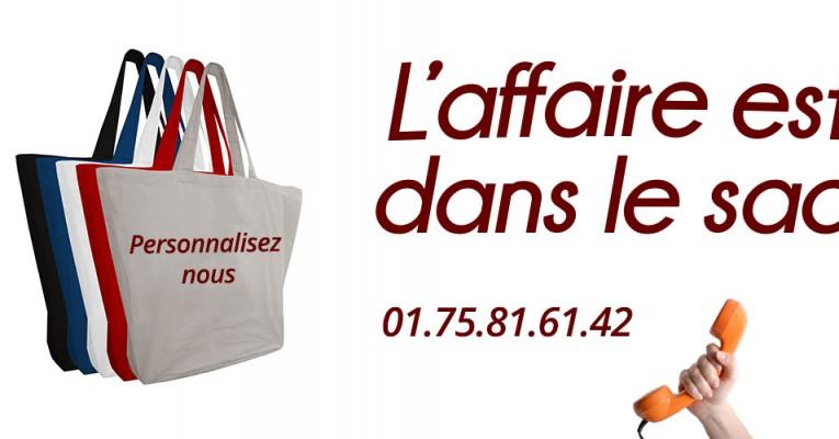 Fabricant de sac personnalisable à Paris